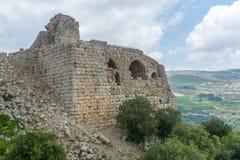 Nimrod Fortress Remains lizenzfreies stockbild