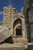 Nimrod Fortress Ruins gate Stock Photos