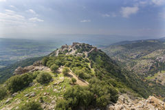 Nimrod Fortress Ruins Stock Photo
