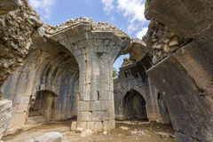 Nimrod Fortress Ruins tower Stock Photography