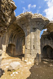 Nimrod Fortress Ruins tower Stock Image