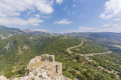 Nimrod Fortress Ruins Stock Photos