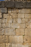 Nimrod Fortress Ruins wall Royalty Free Stock Photo