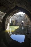 Nimrod Fortress Ruins water reservoir Royalty Free Stock Photos