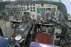 nimrod mr.2  cockpit Stock Photography