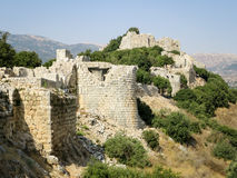 Nimrod& x27;s Fortress Ruins Royalty Free Stock Image