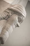 """Nimrud human†""""leidde gevleugelde leeuw Royalty-vrije Stock Afbeeldingen"""