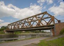 Nimy-Brücke Mons Lizenzfreie Stockfotos