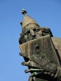 Nin的格里雕象在分裂的 免版税库存照片