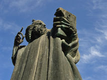 Nin的格里雕象在分裂1的 免版税库存照片