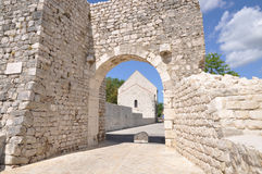 Nin, Kroatië Stock Foto's
