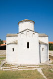 Nin town - Church of Saint Cross. Croatia, Zadar county, Dalmatia, Nin town - Church of Saint Cross  (Crkva svetog Kriza Stock Photography
