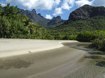 Nina Bay, Hinchinbrook Island Royalty Free Stock Photos