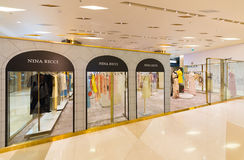 Nina Ricci store in the Siam Paragon shopping mall, Bangkok Royalty Free Stock Photos