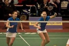 Nina Vislova and Valeria Sorokina royalty free stock photo