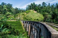 Nine Arch Bridge in Ella Royalty Free Stock Image