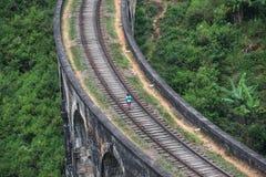 Nine arches bridge, Ella, Sri Lanka Stock Images