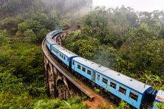 Nine Arches Bridge in Sri Lanka, Ella. Royalty Free Stock Photography