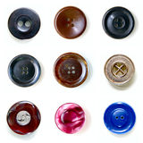 Nine beautiful buttons Royalty Free Stock Image