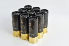 Nine cartridges Stock Image