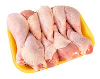 Nine chicken drumsticks Royalty Free Stock Image