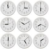 Nine clock Stock Photos
