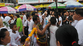Nine Emperor Gods Festival in Phuket Thailand Stock Image