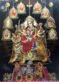 The Nine Forms of Goddess Durga Royalty Free Stock Photo