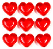 Nine Hearts Stock Photos