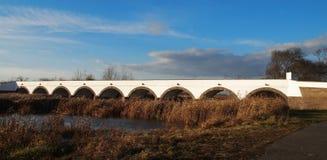 Nine Hole Bridge royalty free stock images