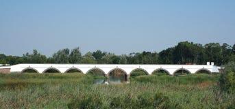Nine Hole Bridge stock images