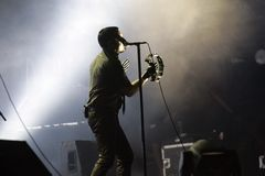 NINE INCH NAILS Arkivbild