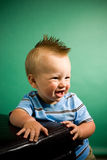 Nine Month Old Boy Royalty Free Stock Photography