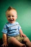 Nine Month Old Boy Stock Photo