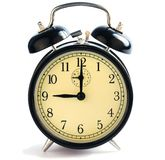Nine O'Clock Alarm Stock Photos