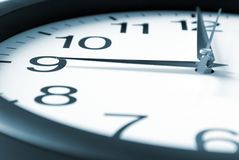 Nine Oclock Royalty Free Stock Photo