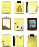 Nine Office & Business icons Stock Image