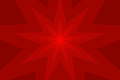 Nine pointed star abstract vector background. Nine pointed star red abstract vector background Stock Photo