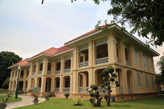 Nine room mansion in Bang Pa-In Royal Palace Royalty Free Stock Photos