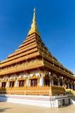 Nine-story pagoda[1] Royalty Free Stock Photo