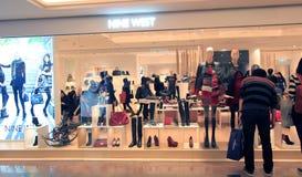 Nine west shop in Hong Kong Stock Photos