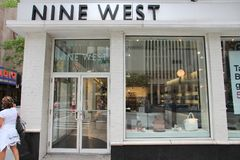 Nine West store Royalty Free Stock Photo
