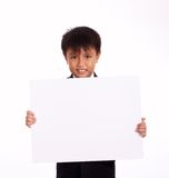 Nine year old boy Royalty Free Stock Photography