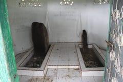 Ninek Hilang Kelaut& x27; tomba di s e la sua moglie fotografia stock libera da diritti