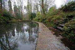 Ninesprings park w Yeovil obraz royalty free