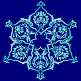 Nineteen series designed from the ottoman pattern Royalty Free Stock Photo