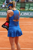 Nineteen times Grand Slam champion Serena Willams during third round match at Roland Garros Stock Photography