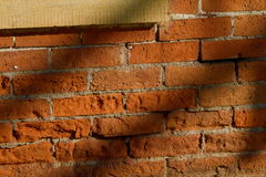 Nineteenth century brick wall royalty free stock photography