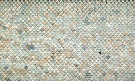 Nineteenth century church roof shingles abstract Stock Image