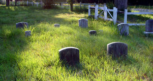 Nineteenth century graveyard Royalty Free Stock Photography